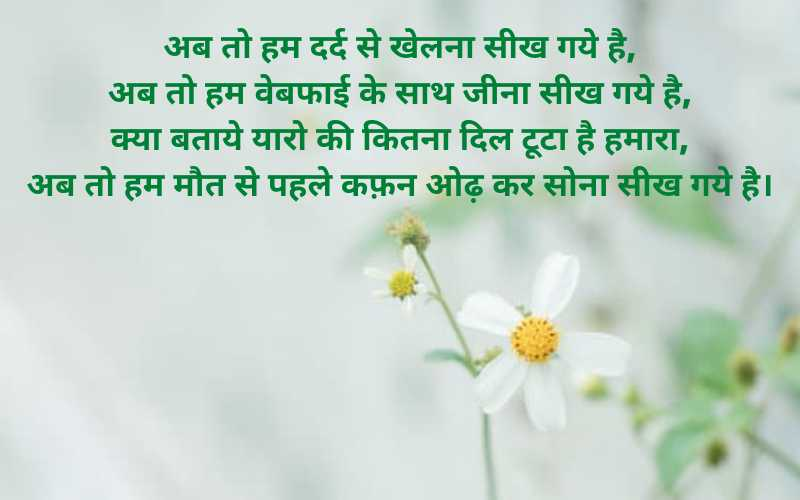 Very Funny Sad Shayari For Lover