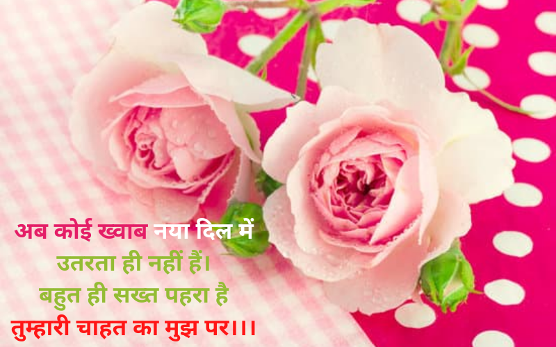 romantic shayari