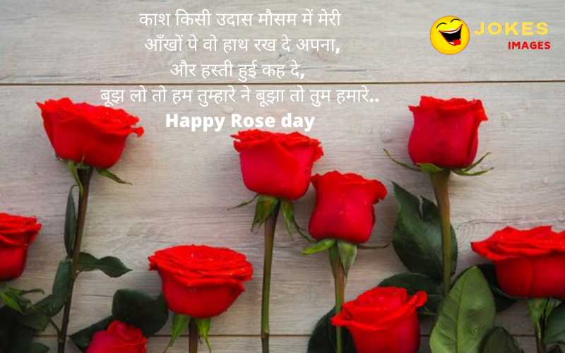 happy rose day wishes for girlfriend in hindi