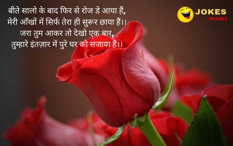 happy rose day wishes for my love in hindi