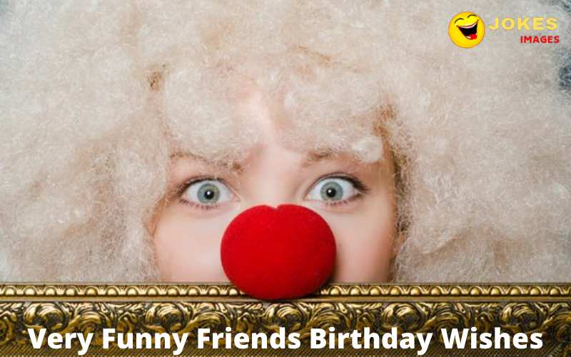 Very Funny Friends Birthday Wishes